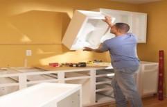 Modular Kitchen Service, Warranty: 1 year, Kitchen Cabinets
