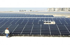 Mounting Structure Grid Tie Grid Connected Solar Power Plant for Commercial, Capacity: 1 Kw