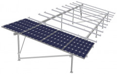 Mounting Structure Grid Tie Solar Home Systems, For Residential, Capacity: 10 Kw