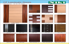 Niki Depends on Lamination Laminated doors, for Home, Features: Maintenance Free Door