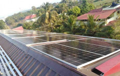 Off Grid Residential Solar Rooftop Panel, Capacity: 10 Kw