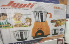 Orange And White Pan India Jyoti Mixer Grinder, Model Name/Number: Stylo - Winner -, 501 W - 750 W