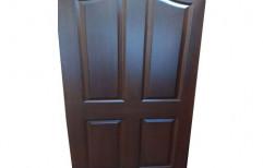 Paint Coated Teak Wood Brown Plywood Door