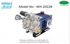 Peekay Wuli High Pressure Pumps WH-2022B 2000 PSI Triplex Plunger