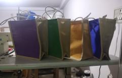 """Plain Jute Bags, Size: H 12"""" * W 10"""" * D 5"""", Capacity: 3-4 Kg"""