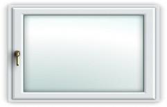Rectangular UPVC Tilt Turn Window