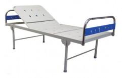 Semi-Electric Beds Backrest Hospital Bed, Powder Coated, Mild Steel
