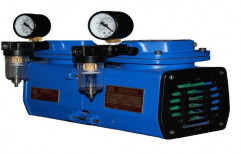 Shenovac Diaphargam Vacuum Pump, Max Flow Rate: 45 Lpm