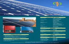 Solar Grid Tie Inverter, 1-100kva