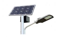 Solar LED Street Light Set, IP Rating: 40