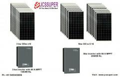 Solar Setup Ongrid Offgrid Hybrid 3kw 5kw Upto 45 Kw Rooftop By Jcssuper