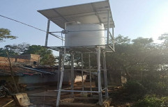 Solar Water Mounting Structure