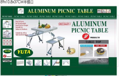 Stainless Steel Picnic Table