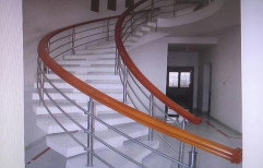 Steel Helical Staircase