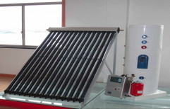 STRE Aluminium Heat Exchanger Solar Water Heater, Capacity: 100 lpd