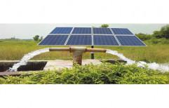 Sunya Shakti Three Phase Solar Pumpset and Controller 1 HP