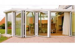 UPVC Folding And Sliding Doors, For Residential, 5 Mm