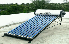 V- HOT PLUS AL 100 Lpd V Guard Stainless Steel Solar Water Heater
