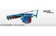 Vishwakarma Mild Steel Disc Harrow, For Agriculture
