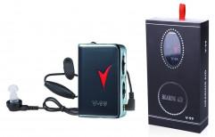 Visible Axon V-99 Portable Pocket Hearing Aid Machine, 1.5V