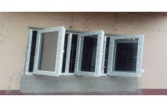White Modern German UPVC Hinged Window, Size/Dimension: 2 X 3 Feet, Glass Thickness: 6 Mm