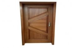 Wood Laminated Brown Wooden Flush Door