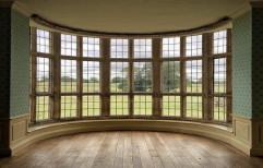 Wood Modular Curved Window