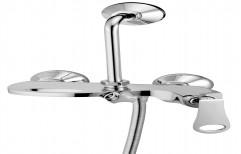 Xen Modern 3x1 Wall Mixer Orlando Single Lver, For Bathroom Fittings, Size: Standard