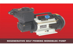 0.5 Hp 0.37 Kw Regenerative Self Priming Monoblock Pump, Model Name/Number: Vsp 01