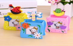 3 in1 Butterfly and Bug Series Wooden Pencil Holder