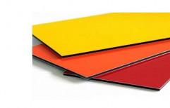 Acp Aluminium Composite Panels, for Interior / Exterior, Thickness: 3-4 Mm