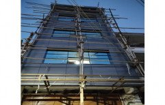 ACP Sheet Structural Works, On Site