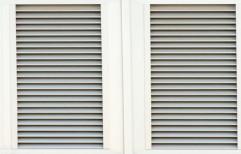 Aluminium Full Height Window Shutter, Thickness: 10 Mm