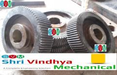 Dhatvik EN 24 Helical Gear, For Industrial, Packaging Type: Box
