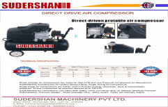 Direct Drive Portable Air Compressor Machine, Model Name/Number: Se2030