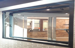 Encraft Inward and Outward opening UPVC Parallel Window, For Residential & Commercial, Glass Thickness: 5-24 Mm