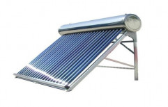 Evacuated Tube Collector (ETC) Stainless Steel Solar Hot Water Heater, Capacity: 200 lpd