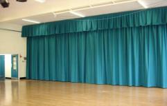 Eyelet Silk Window Curtain, For Door