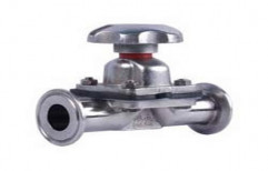 Flanges Stainless Steel Diaphragm Valve, For Water