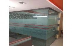 Frosted Glass Partition, Thickness: 5 to 10 mm