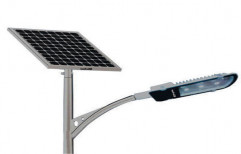 Grow Walt Ceramic Outdoor Solar Street Light