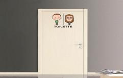 Hinged Rectangular PVC Bathroom Door, Features: Waterproof