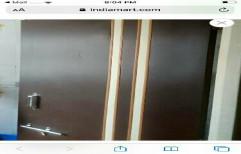 Hinjed Glossy Plastic Doors PVC Doors, For Bathroom, Interior