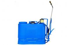 Krishna Double Ball Bearing Sprayer, For Agriculture & Farming, Capacity: 16LIT