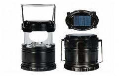 LED Solar Power Camping Lantern Light Rechargeable Night Light
