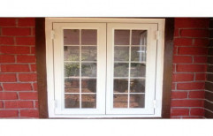Lesso Hinged UPVC French Window, for Residential