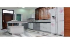 Mild Steel MS Bakelite Designer Modular Kitchen