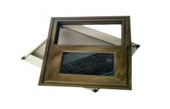Modern Aluminium Rectangle Aluminum Casement Window, For Home
