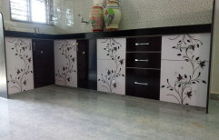 Modern PVC Modular Kitchen