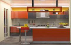 Modern Residential Modular Kitchen